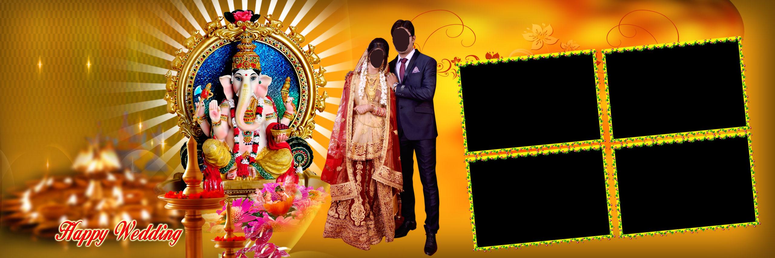 Album Design 12x36 Psd Wedding Background Free Download 2019