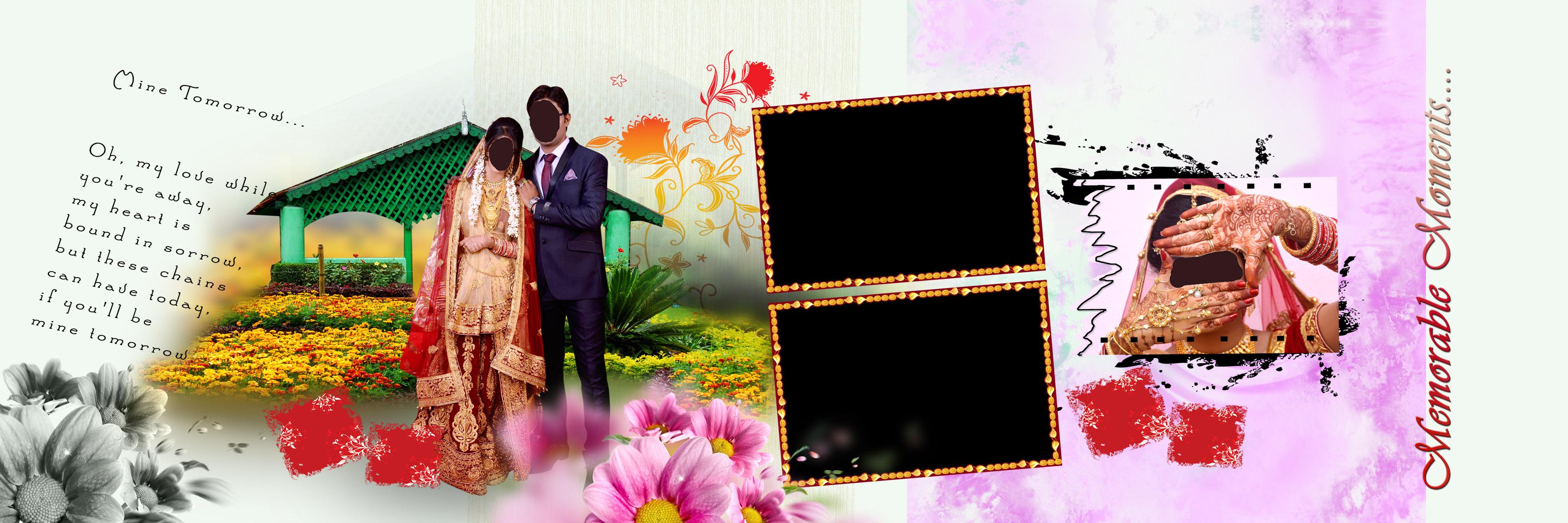 Photoshop Wedding Album Design Psd Free Download Indian