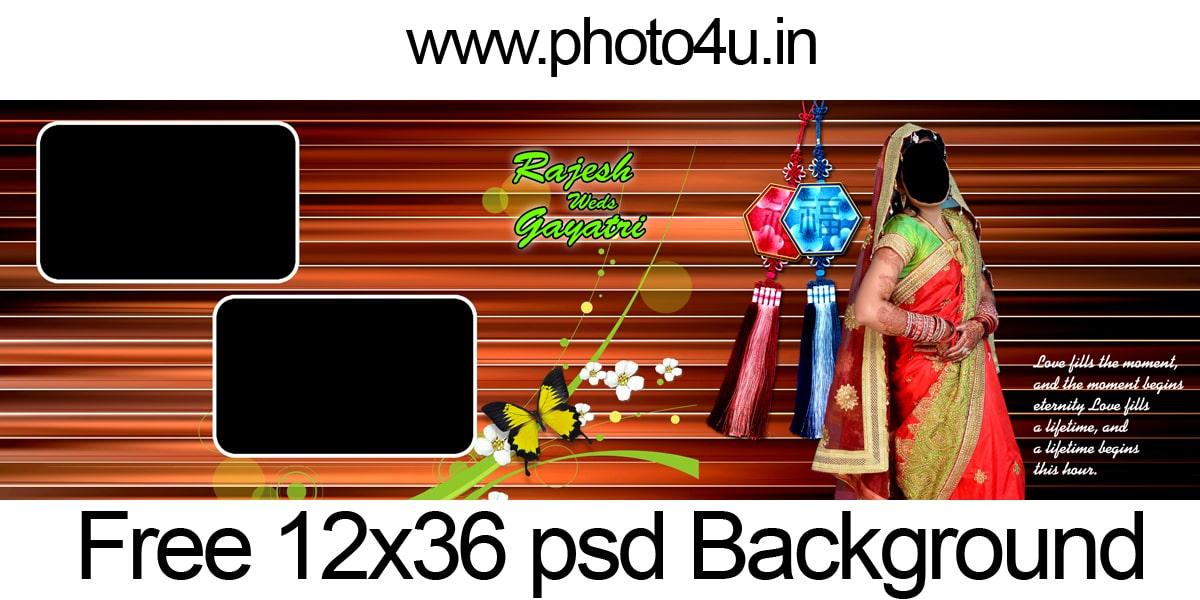 Wedding Album Design 2020 12x36 Psd Background Download 35 Photo4u In